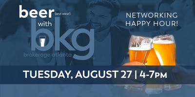 Beer w BKG - Networking Happy Hour