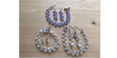 Daisy Bracelet and Earring Set Class