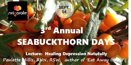 Healing Depression Naturally tickets