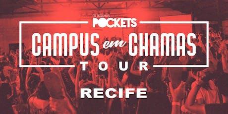 CAMPUS EM CHAMAS TOUR / RECIFE - PE ingressos