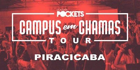 CAMPUS EM CHAMAS TOUR / PIRACICABA - SP ingressos
