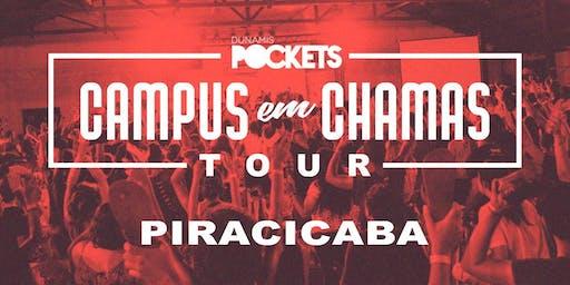 CAMPUS EM CHAMAS TOUR / PIRACICABA - SP