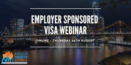 Employer Sponsored Visa Webinar (Free Webinar)