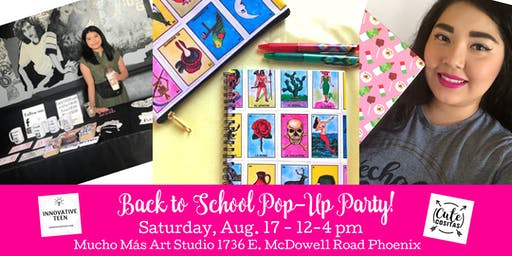Back to School Pop-Up + Free Make & Take Craft