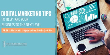 Digital Marketing Tips to Help Take Your Business to the Next Level tickets