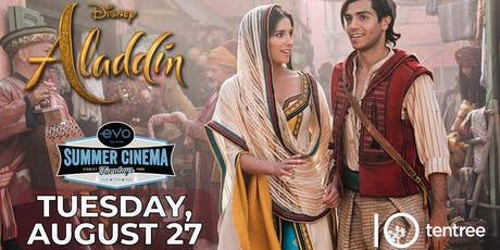 ALADDIN - Evo Summer Cinema - tentree Canopy reserved seating tickets