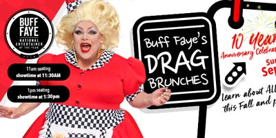"Buff Faye's Drag Brunch: ""Charlotte's #1 Drag Brunch since 2009"""