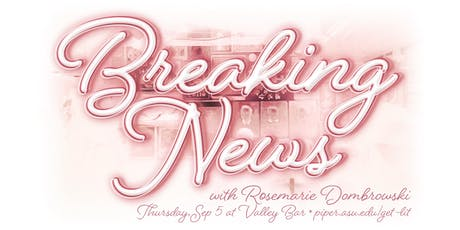 Get Lit: Breaking News with Rosemarie Dombrowski tickets