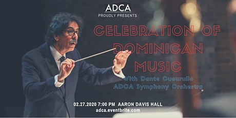 """Celebration of Dominican Music with Dante Cucurullo"" tickets"