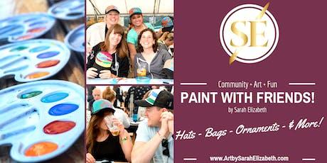 Paint & Sip Night: Trucker Hats! tickets