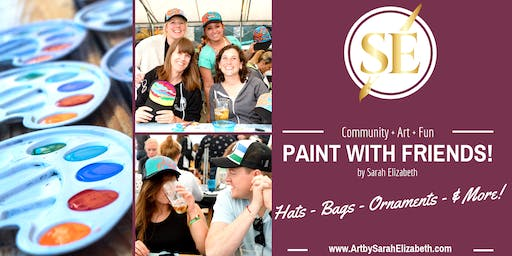 Paint & Sip Night: Trucker Hats!