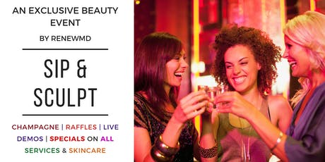 Sip and Sculpt: An Exclusive Beauty Night Out! tickets