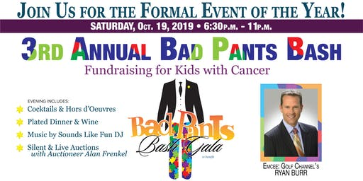 Sunshine Kids 3rd Annual Bad Pants Bash