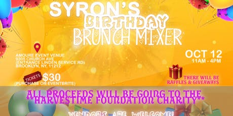 SYRON'S BIRTHDAY BRUNCH MIXER tickets