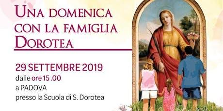 Una domenica con la famiglia Dorotea biglietti