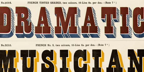 Letterform Archive Salon Series 19: Wood Type tickets