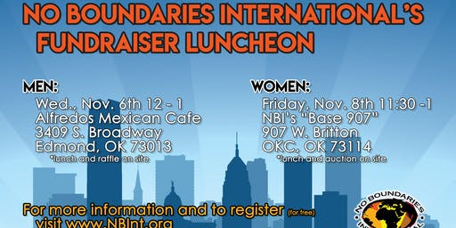 2019 No Boundaries International Women's Fundraiser Luncheon