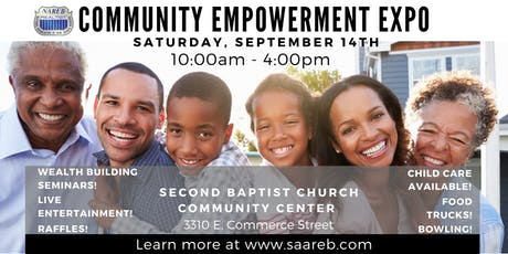 SAAREB Community Empowerment Expo tickets