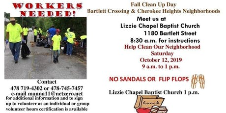 Fall Community Clean Up Day tickets