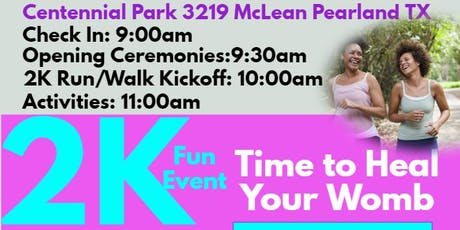My Womb Wellness 2nd Annual 2K Walk Run tickets