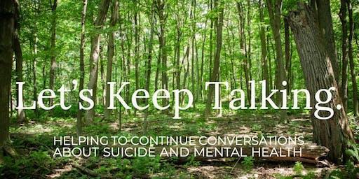 Let's Keep Talking Fundraiser