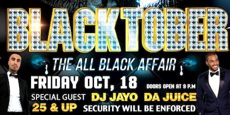 BlackTober: The All Black Affair tickets