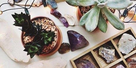 Crystal Garden Terrarium Workshop at Mystic Ginger tickets