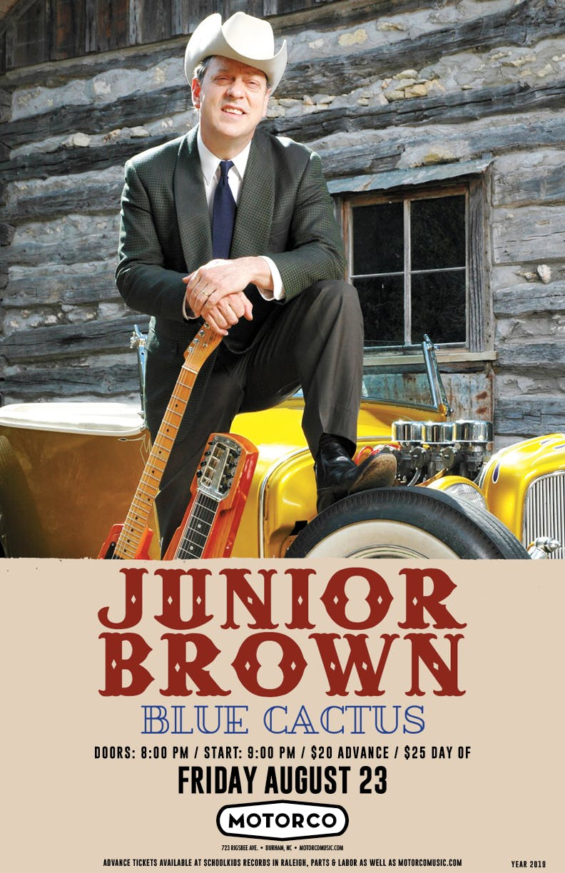 JUNIOR BROWN / Blue Cactus