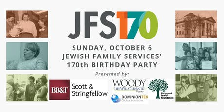 JFS' 170th Birthday Party tickets