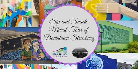 Sip & Snack Downtown Strasburg Mural Tour tickets