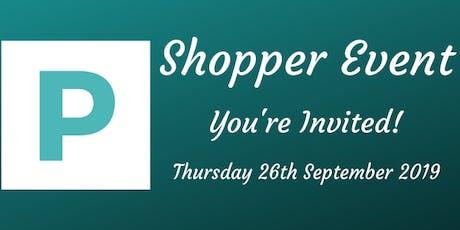 Proinsight Shopper Event - Evening - September 2019 tickets