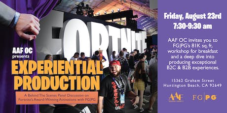 Experiential Production: A Behind The Scenes Breakfast Panel Discussion  tickets