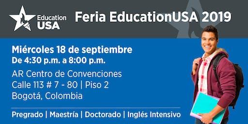 Feria EducationUSA 2019 - Bogotá