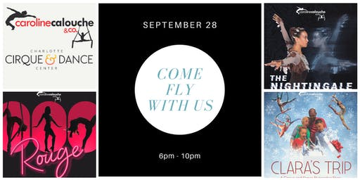 Come Fly With Us Fundraiser