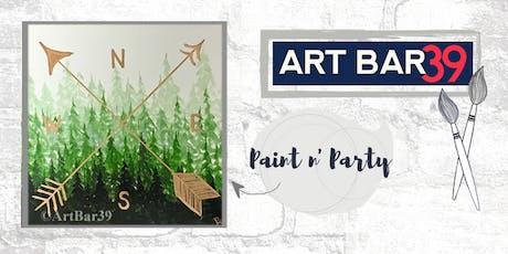 Paint & Sip | ART BAR 39 | Public Event | True North tickets