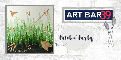 Paint & Sip | ART BAR 39 | Public Event | True North