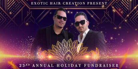 Exotic Hair Creations Holiday Fundraiser Great Gatsby Themed Gala  tickets