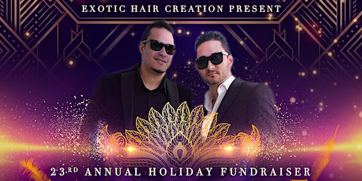 Exotic Hair Creations Holiday Fundraiser Great Gatsby Themed Gala