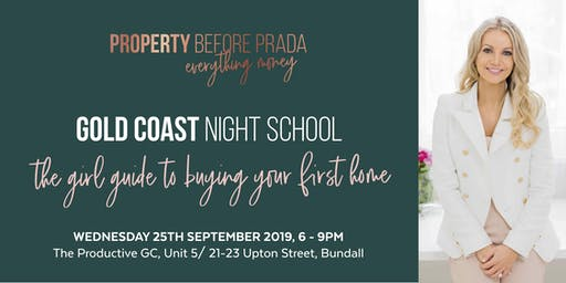 Night School - The girls guide to buying your first home.