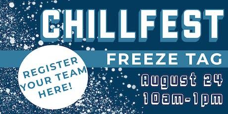 ChillFest: Freeze Tag Team Registration tickets