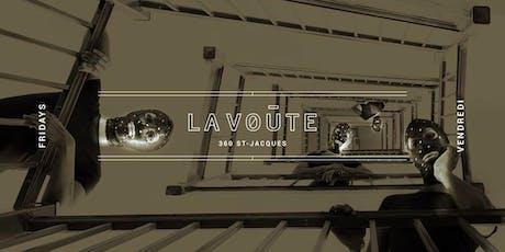 La Voute Fridays at La Voute Free Guestlist - 9/06/2019 tickets