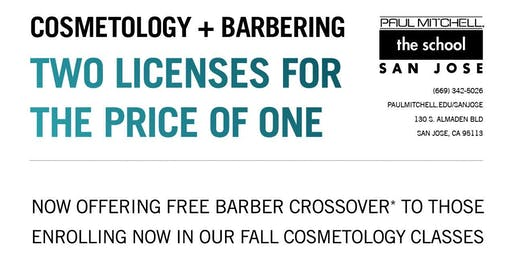 Cosmetology AND Barber crossover info
