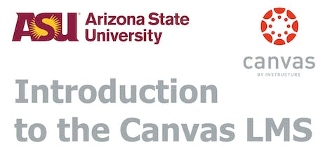 Canvas Training - Introduction (Poly) tickets