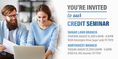 Credit Seminar-Northwest