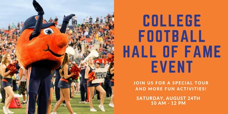 #SUinATL College Football Hall of Fame Tour tickets