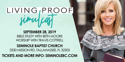 Beth Moore: Living Proof LIVE Simulcast