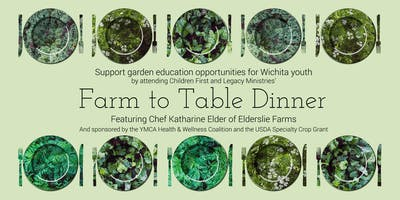 Farm to Table Dinner Featuring Chef Katharine Elder