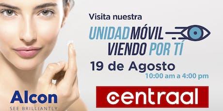 "Jornada visual ""Viendo por ti"" boletos"