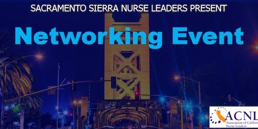 Sacramento Sierra Nurse Leaders Networking Event