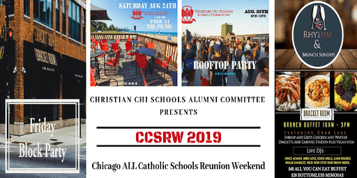 Chicago's ALL Catholic Elementary & HS Reunion Weekend Events